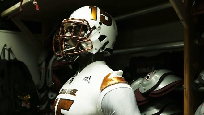 ASU unveiled a new 'Desert Ice' alternate uniform on Aug. 20, 2015. Take a look back at the Sun Devils' uniforms from Danny White's time to today.
