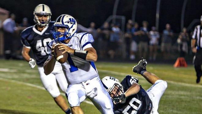 Varsity Football: Williamstown vs. Shawnee.