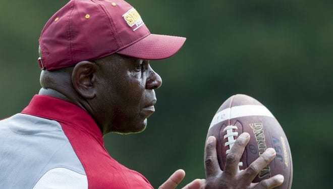 Tuskegee coach Willie Slater and the Golden Tigers are ranked 24th in the NCAA Division II poll.
