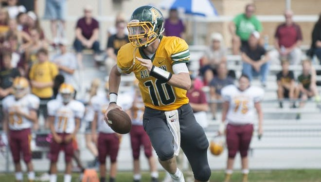 Audubon's Brian Furlong looks to continue a long tradition of quarterbacks from the town to play college football