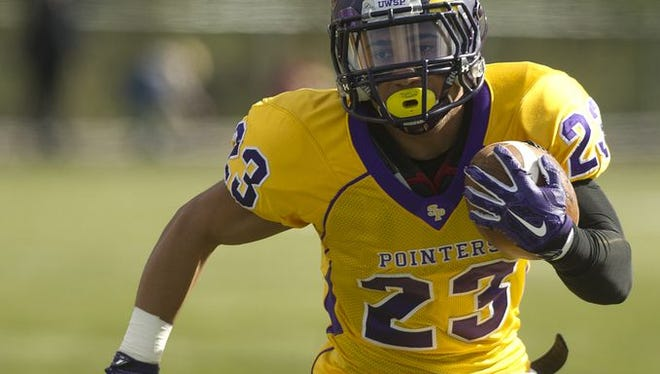 Running back Christian Almonte and the UWSP football team faces another tough conference challenge Saturday against UW-Oshkosh.