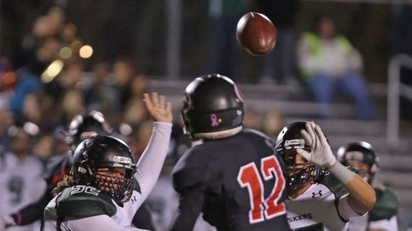 Rye defeated Yorktown 15-14 in a Class A semifinal