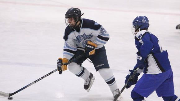 Suffern junior defenseman Troy Daniels ranks among the marquee players in Section 1.