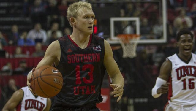 SUU's men's basketball team travels to Richmond, Kentucky to take on Eastern Kentucky on Saturday. The T-Birds are looking for their first win of the season.