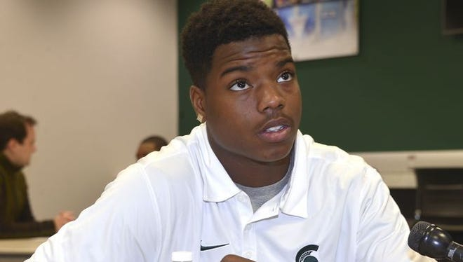 Former Detroit King star receiver and defensive back Donnie Corley is among MSU's early enrollees.