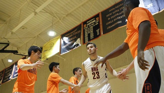 Briarcliff defeats Putnam Valley 54-48 at Briarcliff High School on Thursday, Jan. 7, 2016.
