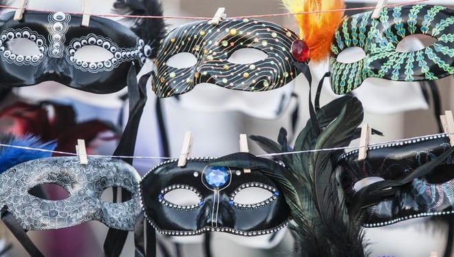 Masquerade masks can be worn to Saturday's InCONCERT party.