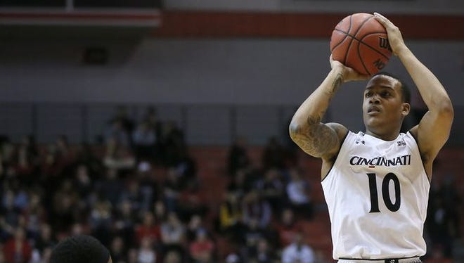 UC's Troy Caupain on visiting Memphis: 'It's definitely one of the toughest places to play in the conference.'