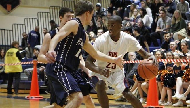 Josiah Cobbs and Briarcliff beat Putnam Valley 54-48 at Briarcliff High School on Jan. 7, 2016. The teams willl meet again in the Class B championship at 7 p.m. on Feb. 27, 2016 at the Westchester County Center.