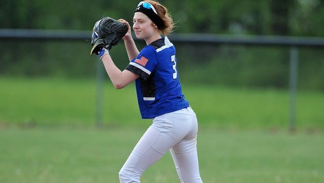 Crestline sophomore Lydia Tadda will be a main returning player for the Crestline Bulldogs.