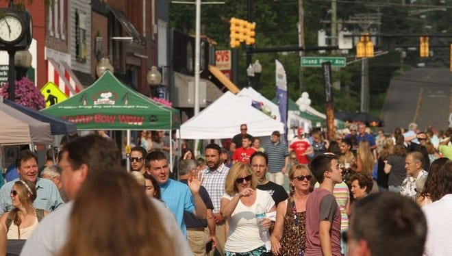 Thousands of guests flood to downtown Brighton for A Taste of Brighton.