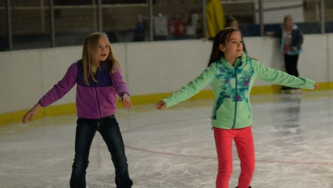 George's Pond at Hirsch Coliseum will host public skating this weekend.