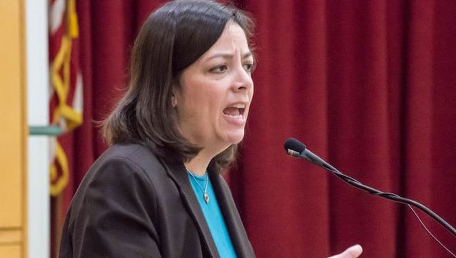Battle Creek City Manager Rebecca Fleury
