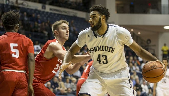 Monmouth University senior big man Chris Brady is one of 12 Hawks averaging at least 8.8 minutes per game through five contests