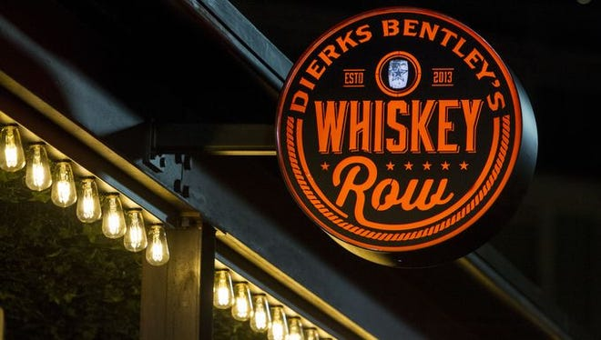 Dierks Bentley's Whiskey Row is set to open in Gilbert in Feb.