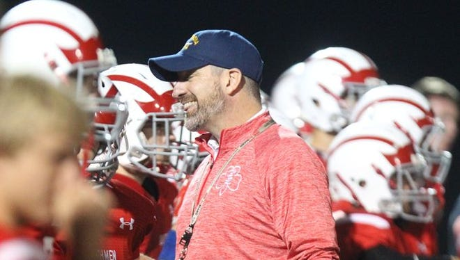 Tappan Zee's Andy DiDomenico resigned after 11 seasons as football coach.