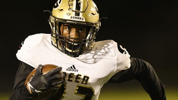 Greer hosts Eastside as part of Week 7 of the high school football season.