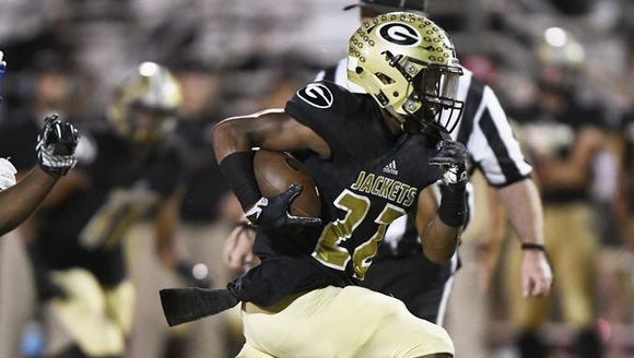 Greer hosts Greenville as part of Week 8 of the high