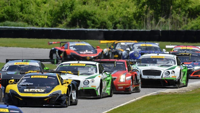 Lime Rock Park in Connecticut hosted a Pirelli World Challenge event in May of 2017.