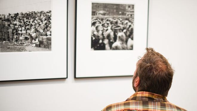 The exhibit of Vivian Maier's photography is currently on display at 70 South Gallery in Morristown.