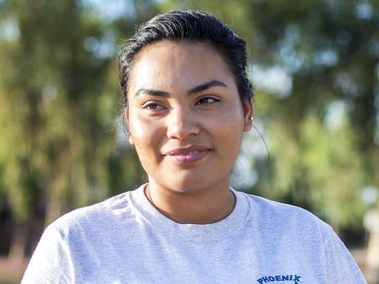 Norma Jimenez se graduó de la Universidad del Gran