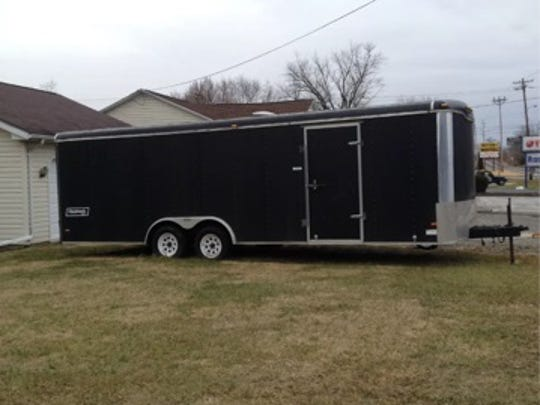 Haulmark trailer stolen from the 2400 block of Emittsburg Road in Cumberland Township on May 21.