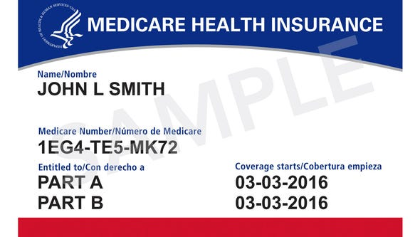 New Medicare Cards will no longer contain a person's