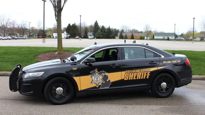 Ottawa County Sheriff's Department patrol car.