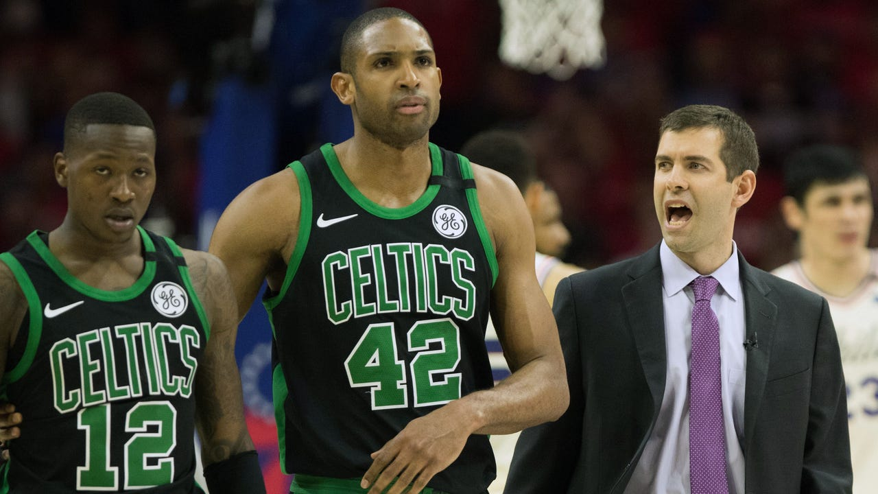 a0c6bc20f44f Al Horford  Celtics wouldn t be in Eastern Conference finals without Jaylen  Brown and Jayson Tatum