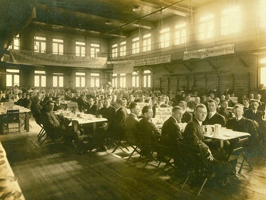 Though it wasn't built to be a basketball gym, the Terminal Building in Crawfordsville hosted the first organized game of basketball in the state of Indiana on March 16, 1894.