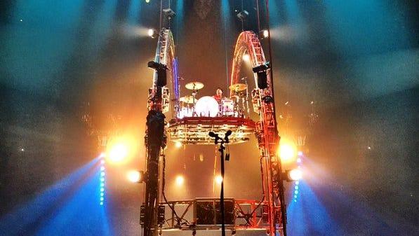 Tommy Lee's drum roller coaster.