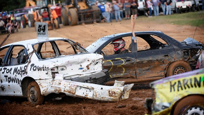 The annual demolition derby on Saturday followed by fireworks are scheduled to cap off the 62nd Lebanon Area Fair.