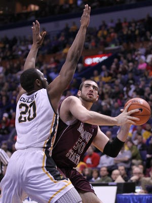 """Missouri State junior Tyler McCullough said Monday the Bears are """"a little immature and not able to handle success and not able to go out and play great every single night."""""""