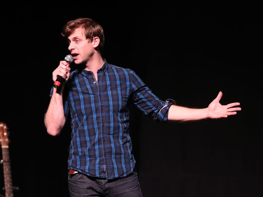 Charlie Berens brought his Manitowoc Minute to the