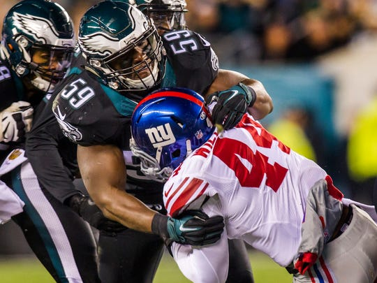 "DeMeco Ryans played for the Eagles from 2012-15 and was affectionately called ""Mufasa"" by former coach Chip Kelly for his leadership ability."