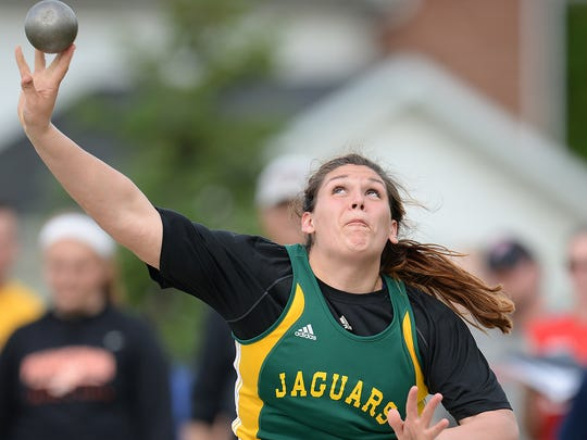 Ashwaubenon senior Kris Lindow will sign a national letter of intent with the University of Dayton women's track and field team on Friday.