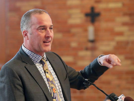 Brian Bruess, president-elect of St. Norbert College,