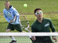 F-F Highlights: JB splits to start tennis season