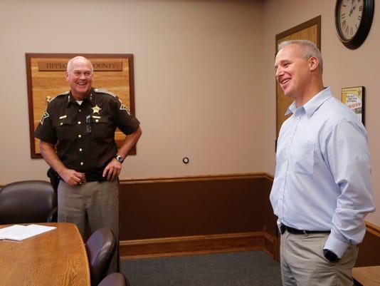 LAF Tom Lehman promoted to jail commander