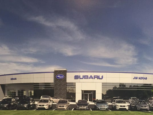 Jim Keras Subaru >> Subaru plans second Memphis dealership as part of Sunbelt push