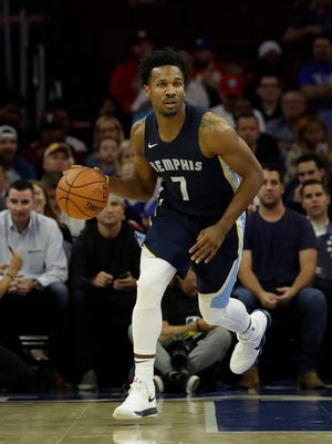 The Grizzlies' Wayne Selden missed 33 games with a quad injury.