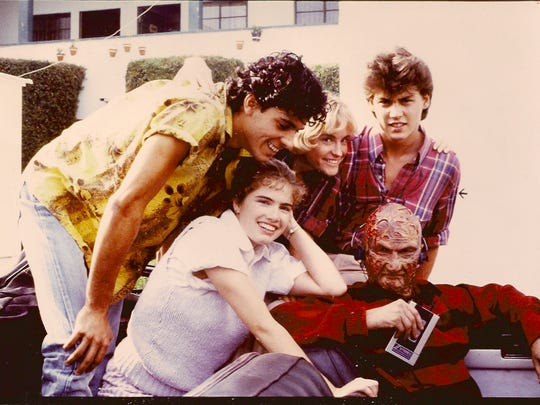 The cast of 'Nightmare on Elm Street'
