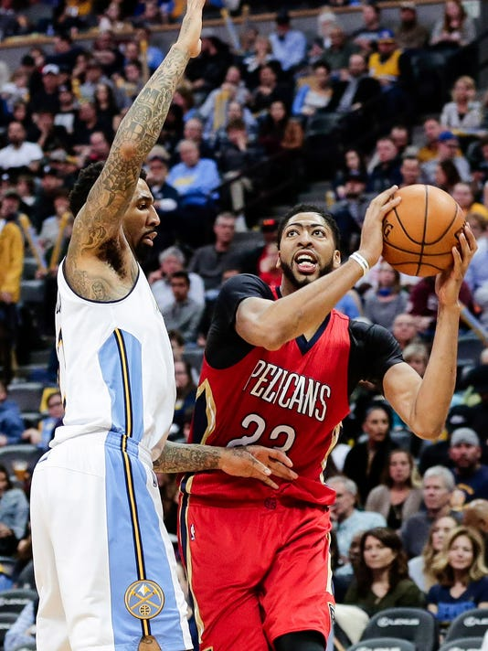 2f83afce8 NBA  New Orleans Pelicans at Denver Nuggets