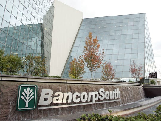 This 2006 photo shows the exterior of the BancorpSouth