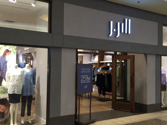 J.Jill returned to the Fox River Mall.