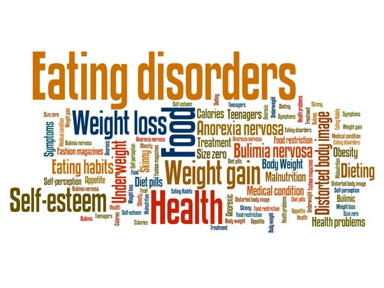 National Eating Disorder Awareness Week is Feb. 26-March 4.