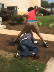 Two teenagers were charged after an assault was captured on video and viewed across social media showing an attack on a 26-year-old man in the Newark area.