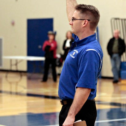 Ken Nash and Brookfield Central will field a young boys volleyball team this season.