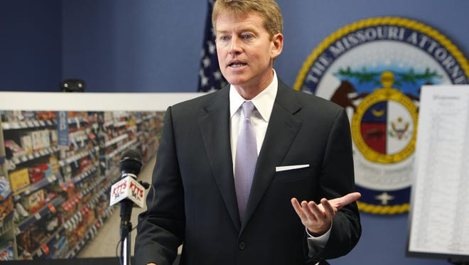 Missouri Attorney General Chris Koster visited Springfield in August 2013 to announce a civil lawsuit against Walgreens after an investigation into a pattern of deceptive pricing. On Friday, a Jackson County Judge found the company violated a court order that resulted from the lawsuit 309 times.