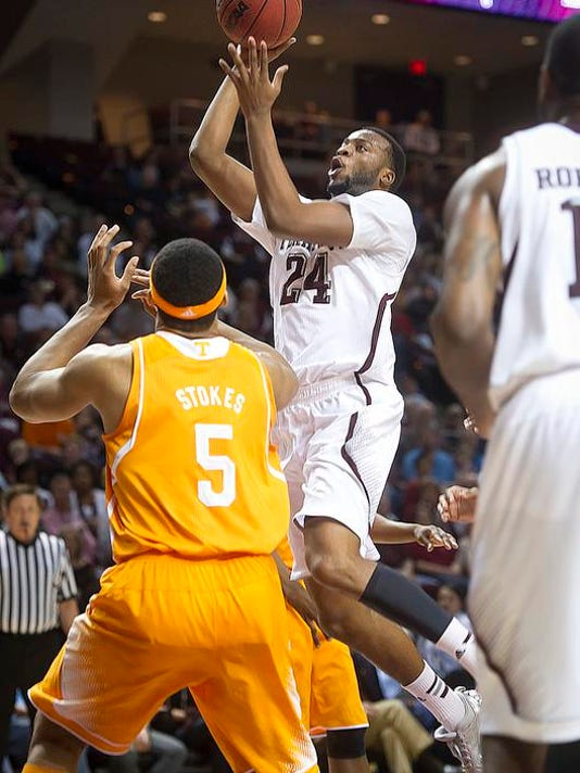 Tennessee Texas A M Basketball